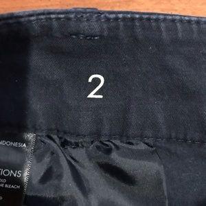 Ann Taylor Shorts - Ann Taylor Boardwalk Shorts Dark Navy Size 2